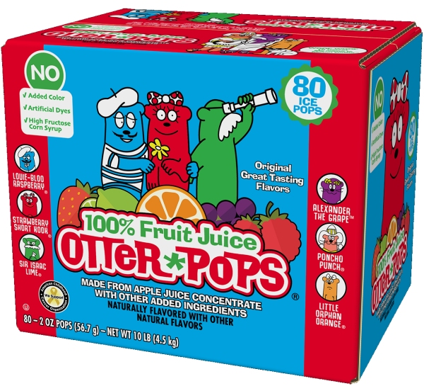 Otter Pops box