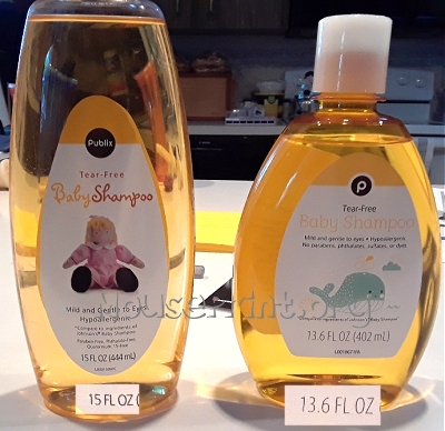 Publix baby shampoo