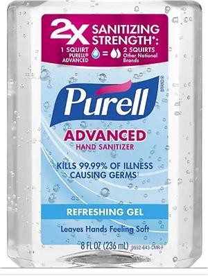Purell label