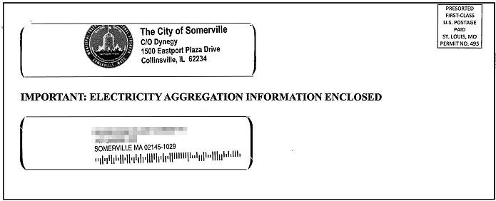 Somerville envelope