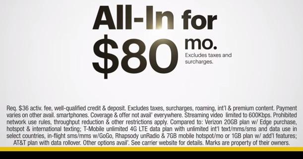 Sprint $80 a month