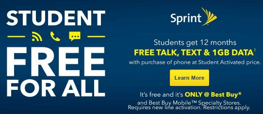 Sprint student offer