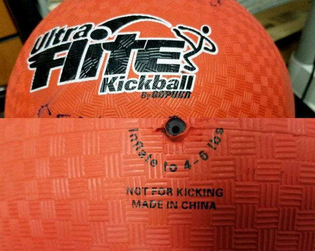 Don't kick the kickball