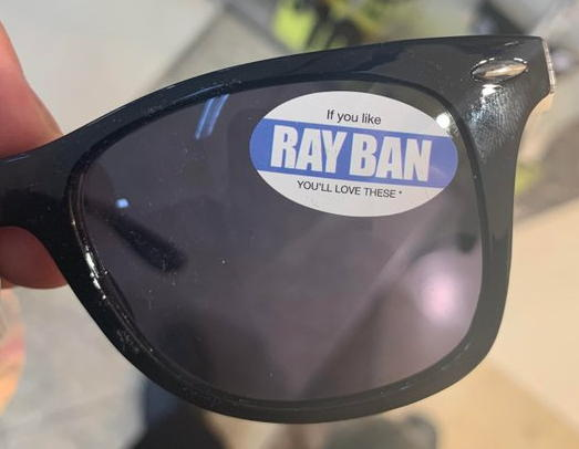 Rayban knock-offs