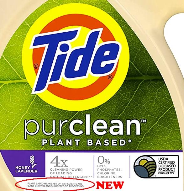 Tide Purclean - new