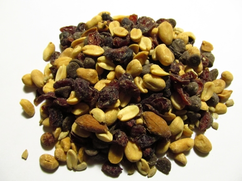 1 cup of trail mix