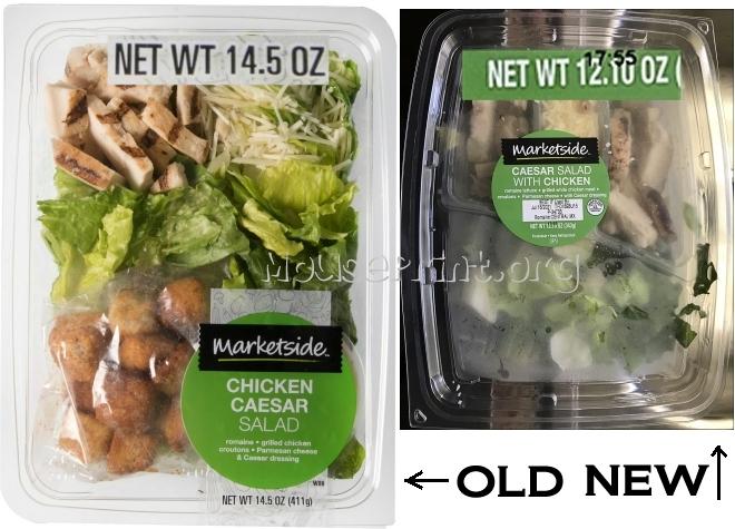 Walmart Caesar Salad
