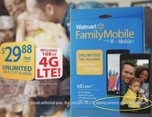 Walmart lowest claim