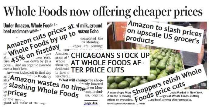 Whole Foods Headlines