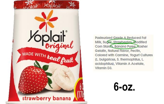 Is Yoplait Greek 100 Yogurt Healthy? – How to Read ... |Yoplait Yogurt Ingredients